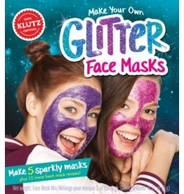 Klutz Klutz Make Your Own Glitter Face Masks