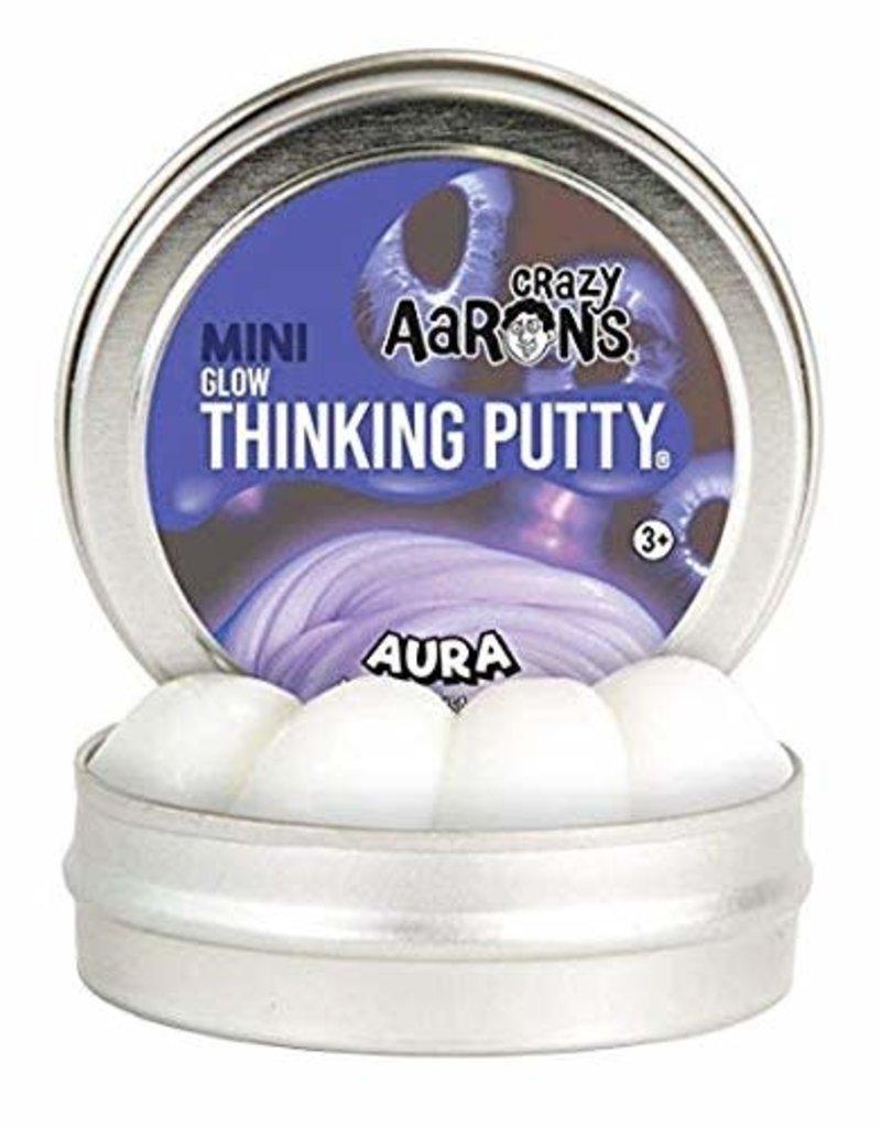 "Crazy Aaron Putty Crazy Aaron's Thinking Putty - Glow - Aura 2"" Mini Tin"