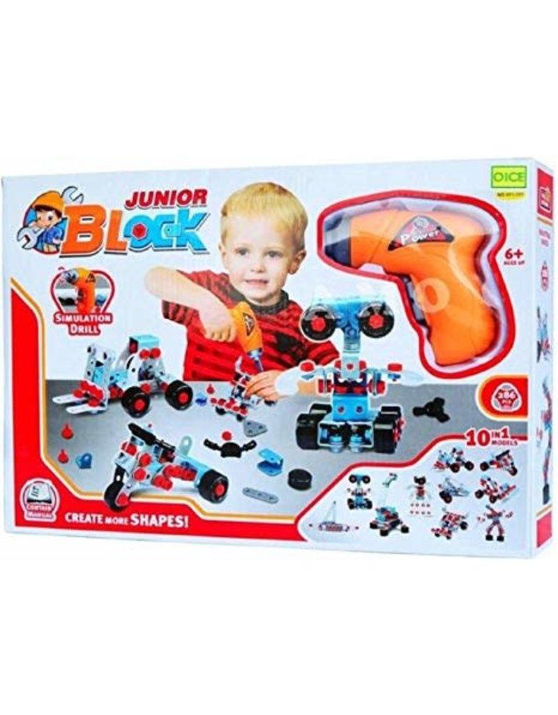 Imex Junior Block 10 in 1 Model Set - 552 Piece