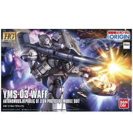 Bandai Hobby Model YMS-03 WAFF Autonomous Republic of Zeon Mobile Suit