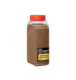 Hobbies Unlimited Hobby Ballast Shaker - Medium -- Brown