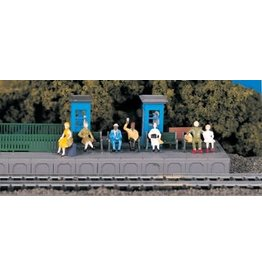 Bachmann HO Scale Figures - Sitting Figures #42331
