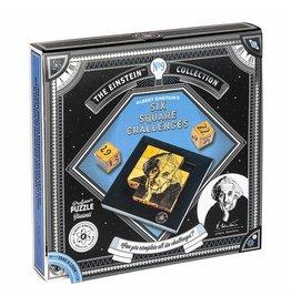 Professor Puzzle Einstein's Six Square Challenges