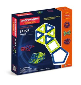 Magformers Magformers Classic Set Line 62 pc Set