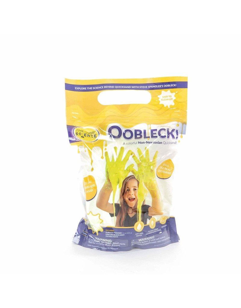 SteveSpanglerScience.com Oobleck! - Yellow