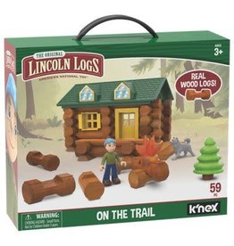 K'nex Lincoln Logs on the Trail
