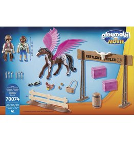 Playmobil Playmobil The Movie - Marla and Del with Flying Horse