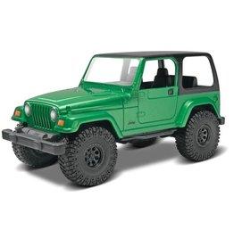 Revell Hobby Model Car Revell SnapTite - Jeep Wrangler Rubicon (1:25)