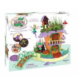 PLAYMONSTER Craft Kit My Fairy Garden - Nature Cottage