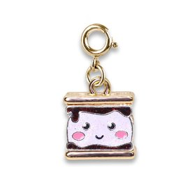 CHARM IT! Charm It! Gold Glitter S'mores Charm