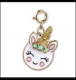 CHARM IT! Charm It! Gold Smiley Unicorn Charm