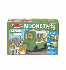 Melissa & Doug Magnetivity - Safari Rescue Truck