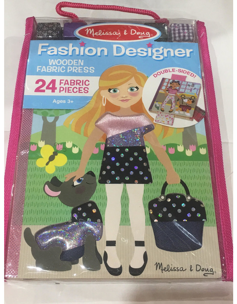 Melissa & Doug Craft Kit Fashion Designer