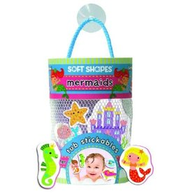 Melissa & Doug Baby Tub Stickables - Mermaid