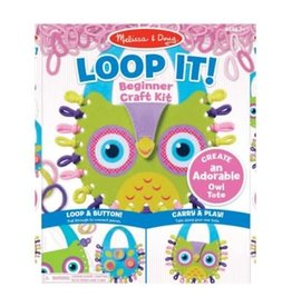 Melissa & Doug Loop It! Owl Tote
