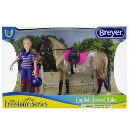 Breyer Breyer Freedom Series English Horse & Rider