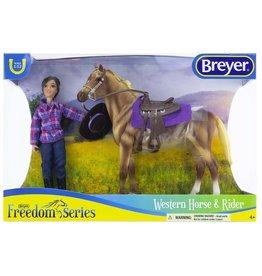 Breyer Breyer Freedom Series Western Horse & Rider