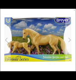 Breyer Breyer Freedom Series Palomino Morgan Horse and Foal