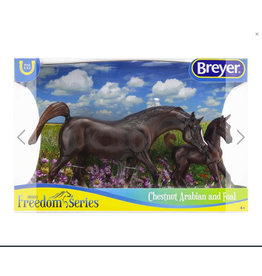 Breyer Breyer Freedom Series Chestnut Arabian Horse and Foal