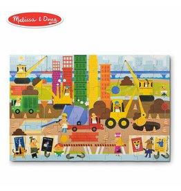 Melissa & Doug Giant Floor Puzzle - Big Builder
