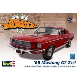Revell Hobby Revell SnapTite Model Car - '68 Mustang GT 2-in-1 (1:25)
