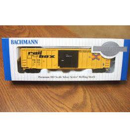 Bachmann Hobby Bachmann HO Scale Rolling Stock Train Car - 50' Outside Braced Sliding Door Box Bar Rail Box