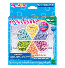 Epoch Aquabeads Pastel Solid Bead Pack (800 pc)
