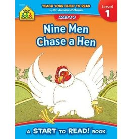 School Zone Book - Nine Men Chase a Hen