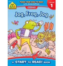 School Zone Book - Jog, Frog, Jog,