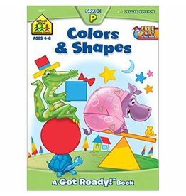 School Zone Workbook - Colors & Shapes - Grade P