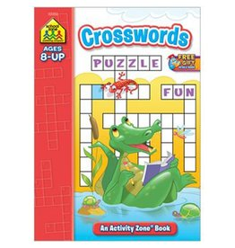 School Zone Workbook - Crosswords - Ages 6+
