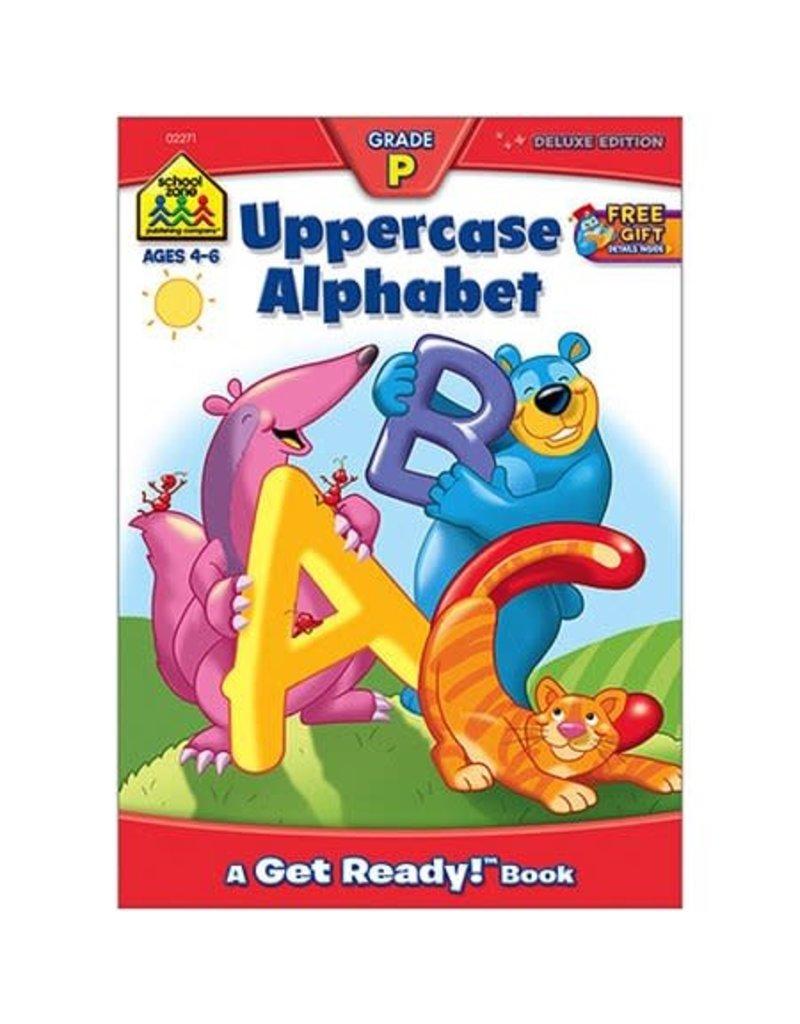School Zone Workbook - Uppercase Alphabet - Grade P