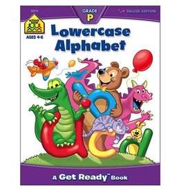 School Zone Workbook - Lowercase Alphabet - Grade P
