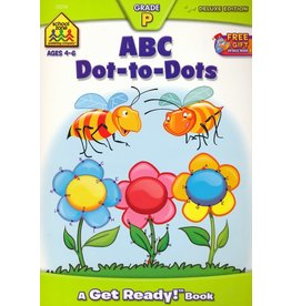 School Zone Workbook - ABC Dot-to-Dots