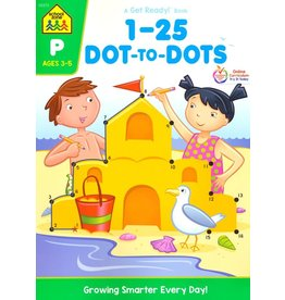 School Zone Workbook - 1-25 Dot-to-Dots