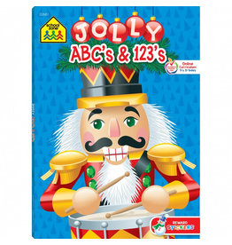School Zone Workbook - Jolly ABCs & 123s - Ages 3-6