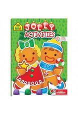 School Zone Workbook - Jolly Activities - Ages 3-6