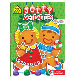 School Zone Workbook - Jolly Activities - Ages 3-6