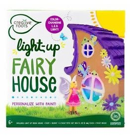 Horizon USA Craft Kit Light-up Fairy House