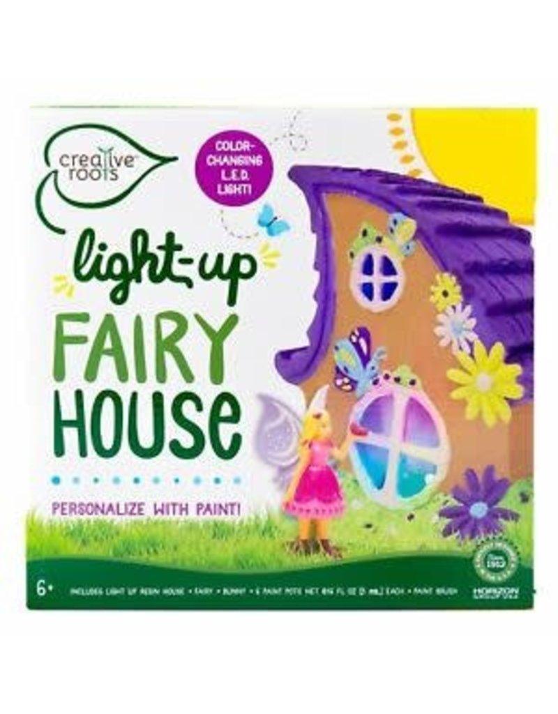 Horizon USA Light-up Fairy House