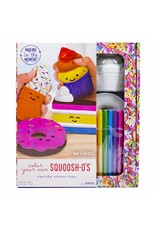 Making in the Moment Craft Kit Color Your Own Squoosh-o's: Squishy Stress Toys
