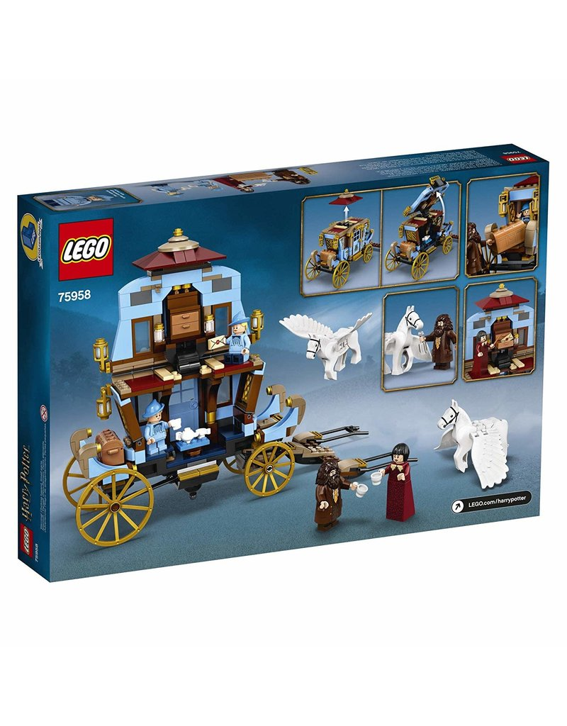 LEGO Lego Harry Potter - Beauxbatons' Carriage: Arrival at Hogwarts