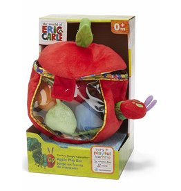 Kids Preferred The Very Hungry Caterpillar - Eric Carle Apple Playset