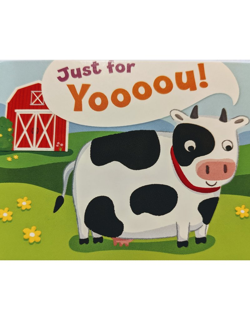 Peaceable Kingdom Card - Cow
