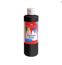 Faber-Castell Faber-Castell Black Tempera Paint - 8 oz