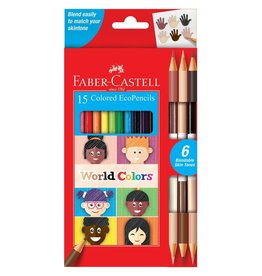 Faber-Castell Faber-Castell 15 World Colors EcoPencils
