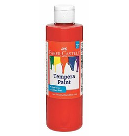 Faber-Castell Faber-Castell Red Tempera Paint - 8 oz