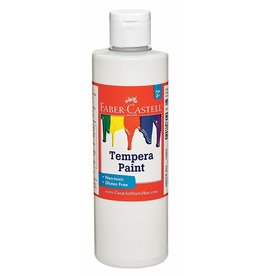 Faber-Castell Faber-Castell White Tempera Paint - 8 oz