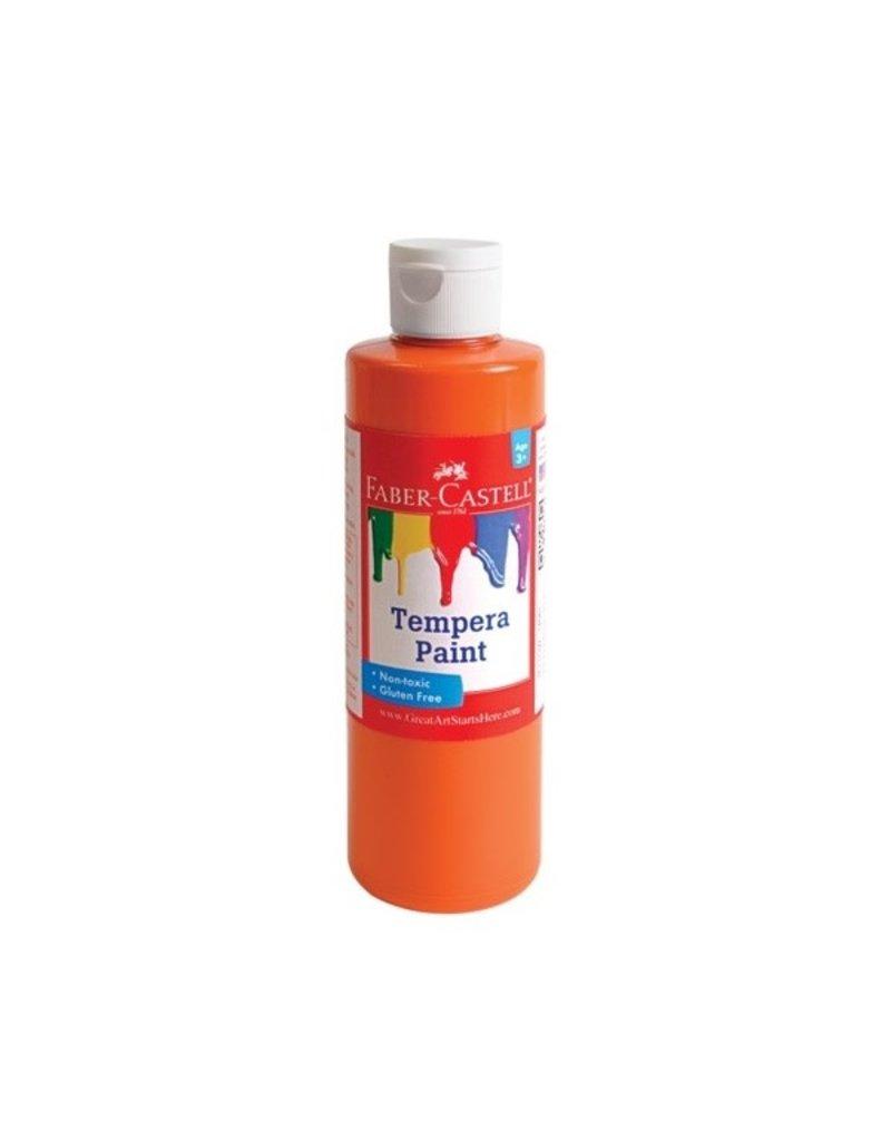 Faber-Castell Faber-Castell Orange Tempera Paint - 8 oz