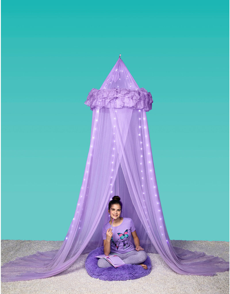 3 Cheers for Girls 3C4G Lavender Magical Lights Canopy